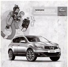 Nissan Qashqai & Qashqai +2 Specifications 2011-12 UK Market Brochure