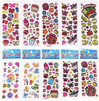 3D Dessert Party Scrapbooking/&Paper Crafs Stickers lot-kids favor party gift