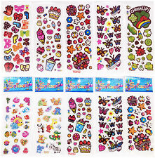 New 10 Sheets Wall Car Scrapbooking  Paper Book Stickers Kids Crafts Xmas Gift A