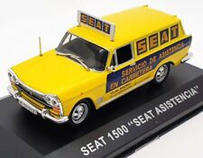 "Altaya 1/43 Scale Diecast IR104 - Seat 1500 ""Seat Asistencia"" - Yellow"