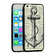Vintage Anchor Aweigh Printed iPhone 6 Case 4.7 Inch for Apple