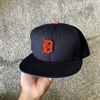 New Era 59 Fifty MLB Detroit Tigers Baseball Fitted Hat 7 3/4