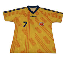 1994 Antony De Avila COLOMBIA NATIONAL TEAM ADIDAS Soccer Jersey Vintage #7 RARE