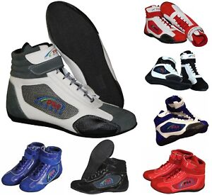 Karting/Go Karting / Race/Rally/ Track Boots with artificial leather / suede mix
