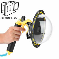 Diving Dome Port Waterproof Case Housing Cover for GoPro Hero 7 6 5 Black Camera