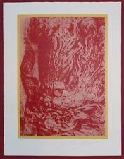 Ernst Fuchs Mordochai Farbserigraphie handsigniert u. nummeriert 1/200