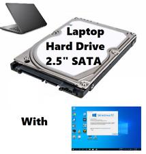 320GB 2.5 Laptop Hard Drive SATA  WINDOWS 10 Pro 64 Office_2016 P-Shop CS5  XX
