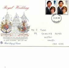 Royalty Mint Never Hinged/MNH British First Day Covers