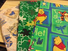 "3 pcs cotton fabric from America. 19x22"",18x22"",18x21.5"". Pack 7."