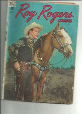 Roy Rogers Uncertified Golden Age Westerns Comics