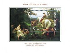 B728-1-2 Works of Art on Postage Stamps  S/S 2009