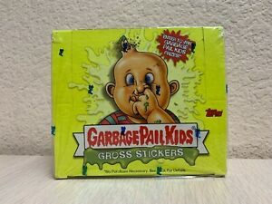 Garbage Pail Kids GPK Gross Stickers Factory Sealed Booster Box 24 Packs 2003