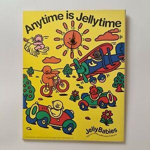 Jelly Babies Wall Clock - Vintage Advertising Trebor Bassets - Athena...