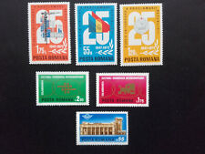 1972 - Romania - Various Series , Mi. 3020-3021, 3034, 3080-3082 Mnh
