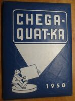 Chega Quat Ka Whitesboro Central School New York NY 1958 yearbook