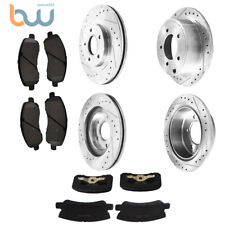One New OPparts Disc Brake Rotor Front 40527002 for Jeep Cherokee Comanche