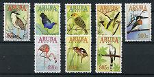 Aruba 2017 Gomma integra, non linguellato BIRDS GLI AIRONI coraciformi Fenicotteri Cuckoos Orioles 8 V Set Francobolli