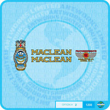 Maclean - Bicycle Decals Transfers - Stickers - Set 2
