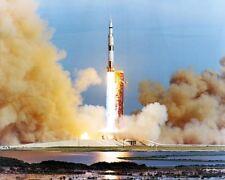 NASA APOLLO 15 SATURN BOOSTER LAUNCH 8x10 SILVER HALIDE PHOTO PRINT