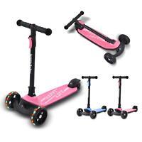 Scooter Kinderroller 3-Rad LED-Räder Roller Kickboards Weihnachtsgeschenke HOT