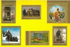 RUSSIA 2012 7571/76 Arte contemporanea - New Set 6
