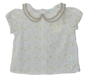 Marie Chantal Baby Girls Cotton Top Blouse Various Sizes NWT SP £49