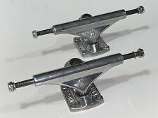 "Kroul Skateboard Trucks Hi 5""-Hangers 7.75""-Axles Polished Pair"