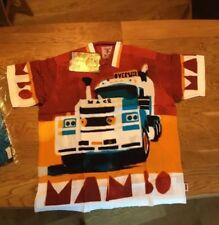 Mack Truck  Large RARE MAMBO LOUD SHIRT Australian Hawaiian