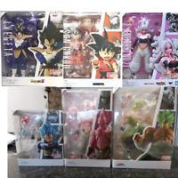 SHF Dragon Ball Figure Super Saiyan Son Gokou Goku Android Trunks Majin Buu Vege