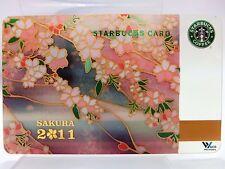Starbucks Japan 2011 Gift Card ~ Sakura Cherry Blossom