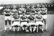 CHELSEA FOOTBALL TEAM PHOTO 1960-61 SEASON