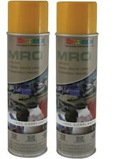 Seymour 620-1446 Industrial MRO High Solids Spray Paint, Ryder Yellow - 2/Pack