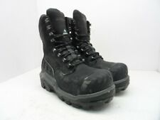 Dunlop Men's 8'' Composite Toe Composite Plate WP Boot DLNA16101 Black 8M