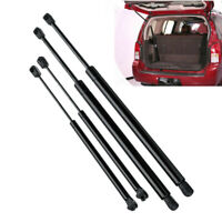 4Pcs Rear Window+Tailgate Gas Struts Support Lift for Pathfinder R51 2005-2 X2C3