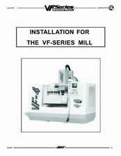 Haas Milling Vf-4 Milling Machine Installation Instructions 500 Pages