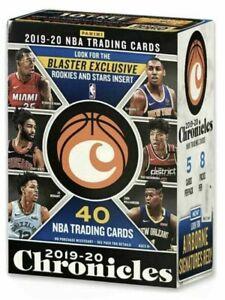 2019 2020 Panini Chronicles NBA Basketball Trading Cards BLASTER Box 8 Packs