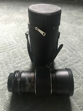 Alpex 200mm F3.5 FD Prime Telephoto Lens And Carrying Case