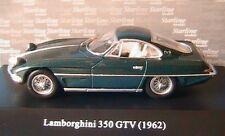 LAMBORGHINI 350 GTV 1962 OPEN LIGHTS GREEN METAL STARLINE 1/43 350GTV GRUN VERDE
