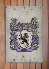 Little Coat of Arms A4 Aged Retro 10x8 Metal Sign Aluminium Heraldry