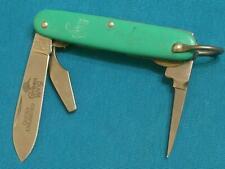 VINTAGE CAMILLUS USA DU DUCKS UNLIMITED GREEN WING SPORTSMANS JACK KNIFE POCKET