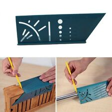 3D Measuring Tool Gauge Ruler Square Mitre Angle Size Measure For Woodworking US