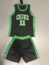 Boston Celtics Kyrie Irving's Kids Set, With Top And Shots