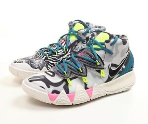 Nike Kybrid S2 'What The Neon' Basketball Shoes CQ9323-002 Size 9.5