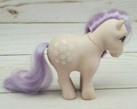 Vintage My Little Pony G1 Blossom 1982 Concave Foot Earth Collector Pose MLP