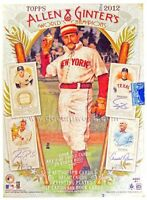 2012 Topps Allen & Ginter Baseball Complete Your Set Pick 25 Cards From List