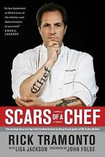 Scars of a Chef: The Searing Story of a Top Chef Marked Forever by the-ExLibrary