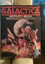 Vintage 1978 Battlestar Galactica Activity Book . Good Condition .