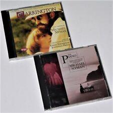 MICHAEL NYMAN - CARRINGTON & THE PIANO - 2 x Original Soundtrack / Score / OST