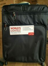 it luggage Worlds Lightest Cabin 2 Wheel Black Suitcase 55cm