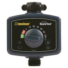 Melnor Sunrise Once-a-Day Electronic Water Timer, No Programming ~